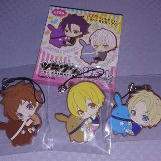 TSUKIUTA Anime Rubber Strap
