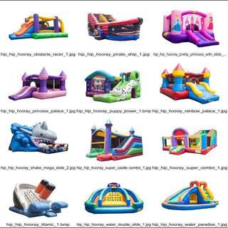 RENTAL - Dry and Wet Bouncy Castle