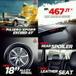 New PAJERO SPORT EXCEED 2018, BEST PRICE,BEST DEAL