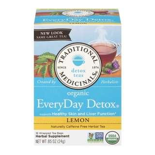 TRADITIONAL MEDICINALS 有機排毒檸檬茶 16包