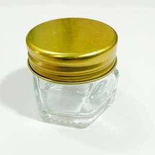 Hexagon Glass Bottle
