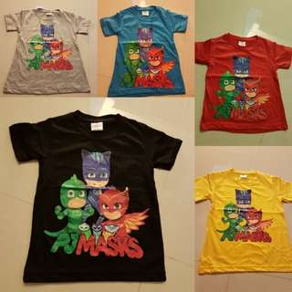 PJ Mask Shirts instock 2 for $10