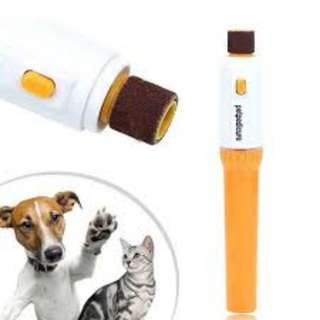😺 Electric Pet Claw Toe Nail Grinder Clipper🐶