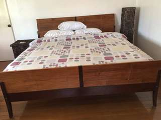Palau King Size Bed with Viscolux Mattress