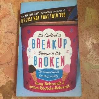 Self-help: It's called a breakup because it's broken
