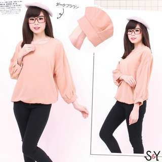 Blouse jumbo Baju wanita big Jessie Baju kerja jumbo blouse korea big
