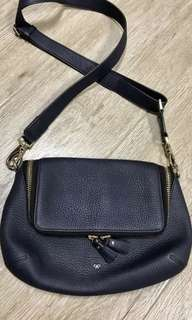 Authentic Anya Hindmarch maxi zip crossbody