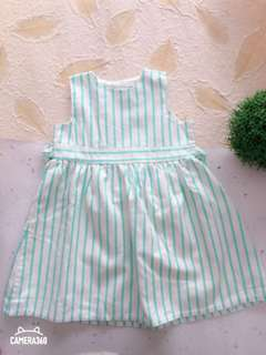 Dress Green Stripe