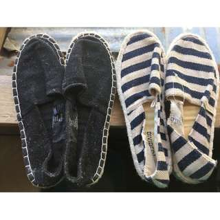 Divided by H&M Black and Stripes Shoes