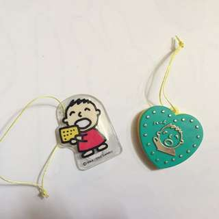 Sanrio vintage 大囗仔 小禮物 clip 1990 1991