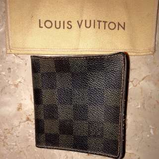 Louis Vuitton Damier Wallet Authentic