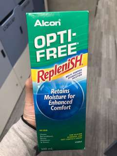 Opti-free contact lens solution 300ml exp 06/19