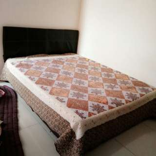 Katil Queen Size Bed
