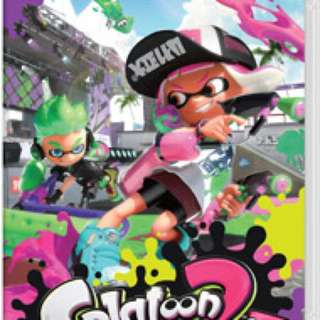 徵Switch games - 1,2 Switch; 美版Splatoon 2