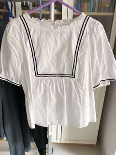 Franche Lippee white top 90% New