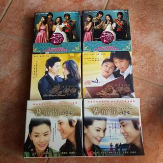 Korean Drama VCDs