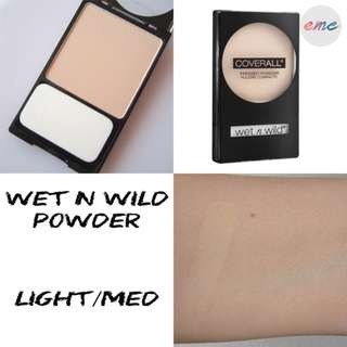 BN WNW Wet N Wild Coverall Pressed Powder - Light to Medium