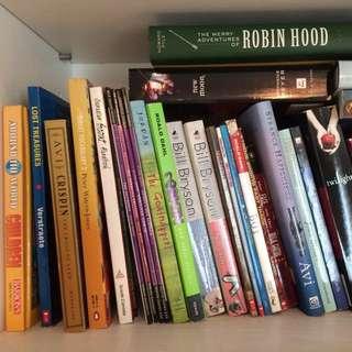 English novels children books!! 英文小說&兒童書!
