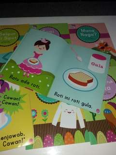 8 x Early Reading Series (Malay) Bk for kids