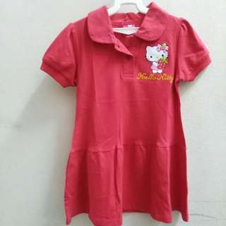 Kid hello kitty Dress