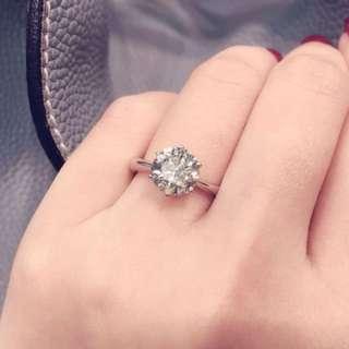 2.129卡鑽石 祼鑽 L 色