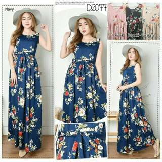 Long dress flower😘