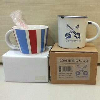 Brand New Cups With Box