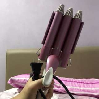 Mermaid hair curler