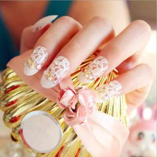 1roll Nail Art Transfer Foil Sticker White Design Lace Rose Flower Floral Tips Decoration Polish Manicure Tools Decal Set