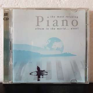 2CD》The Most Relaxing Piano Album In The World..Ever!
