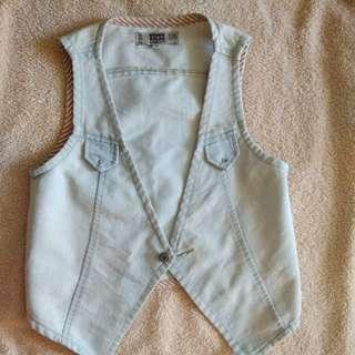 Vest Jeans / vest denim