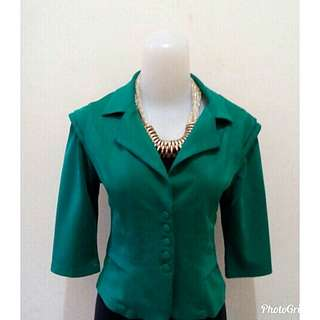 Sale Green Blazer