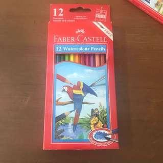 Pensil Warna Faber Castell 12 Watercolor