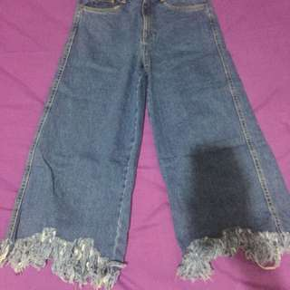 Zara trafalluc jeans