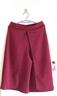 Maroon Square Pants