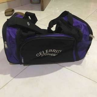 Tas Gym Travel Bag Celebrity Fitness Celfit