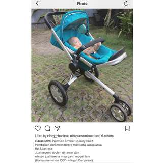 Preloved quinny buzz stroller
