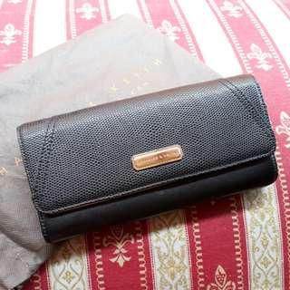 Long Wallet Black