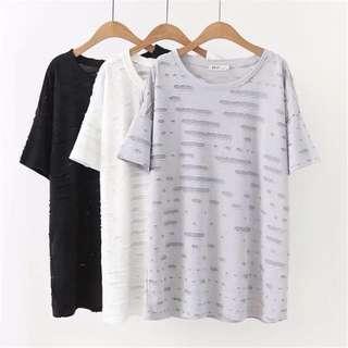 (XL~3XL) 2018 short-sleeved t-shirt t shirt female half-sleeved T-shirt