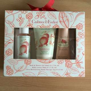 Crabtree & Evelyn Pomegranate Gift Set