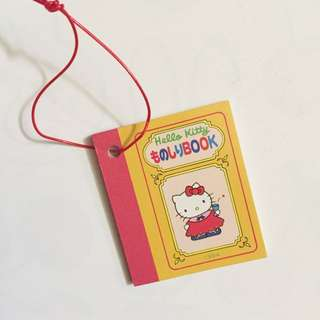 Sanrio vintage Hello Kitty 20th 週年 小禮物 介紹書仔 1994