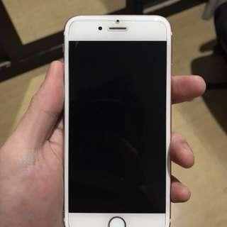 Apple iPhone 6S 128GB ROSE GOLD EX INTER MANTAB