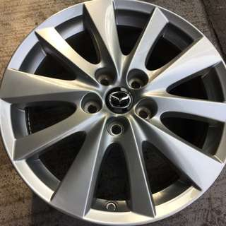 "Pre-Owned 17"" Original Mazda Sports Rim"