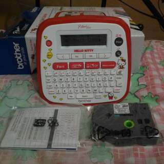 Brother P-touch D200kt labeler hello kitty