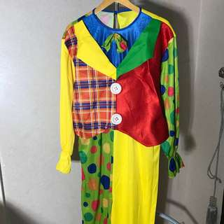 kostum baju badut clown costume
