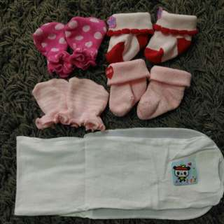 Baby Socks Mitten & Barut