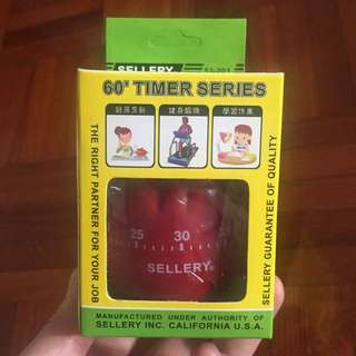 Sellery 'Bell Pepper design' 60' Timer Series