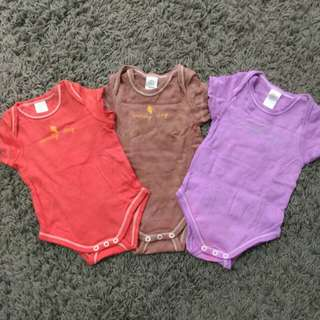 Combo 3pcs Baby Rompers