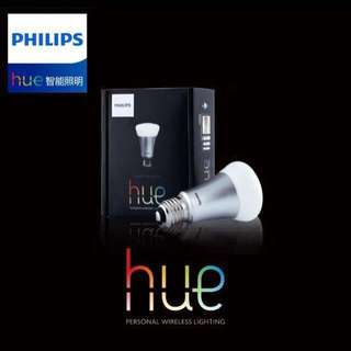 原裝Philips飛利浦Hue智能調光燈泡節能燈泡彩光