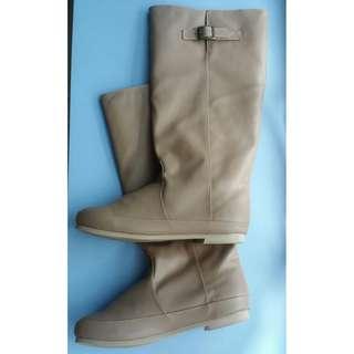 Big Size Women shoe High Boots (Flat) Japan size LLL(26cm)